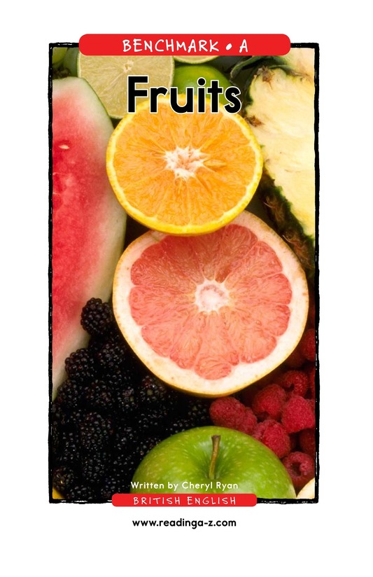 Book Preview For Fruits Page 1
