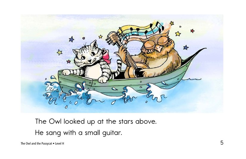 Book Preview For The Owl and the Pussycat Page 5