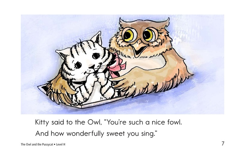 Book Preview For The Owl and the Pussycat Page 7