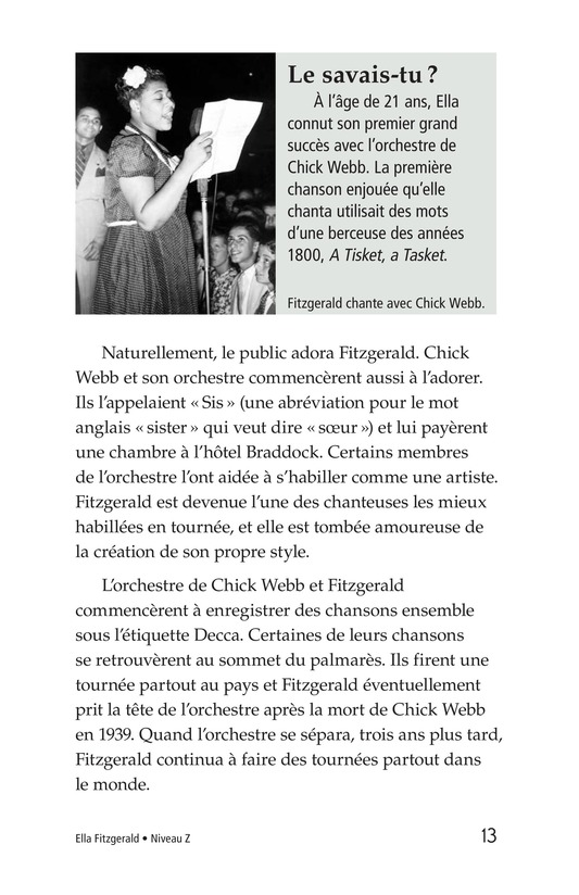 Book Preview For Ella Fitzgerald Page 13