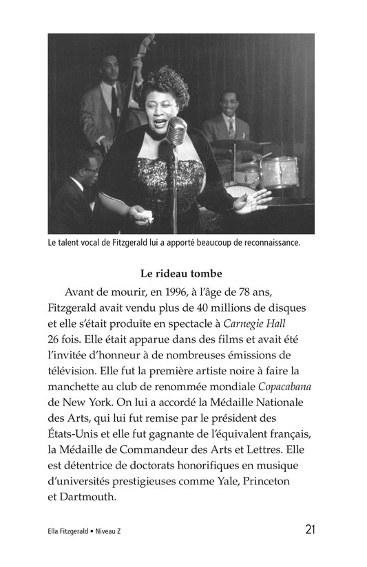 Book Preview For Ella Fitzgerald Page 21