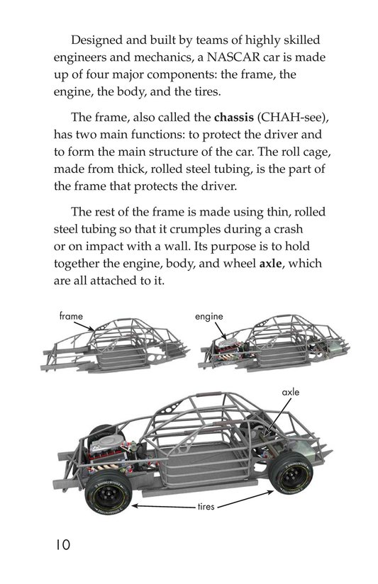 Book Preview For The World of NASCAR Page 10