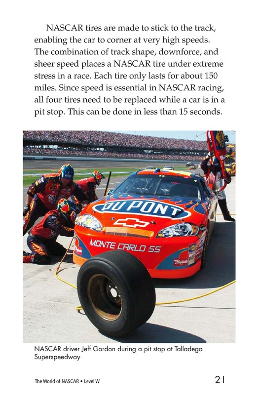 Book Preview For The World of NASCAR Page 21