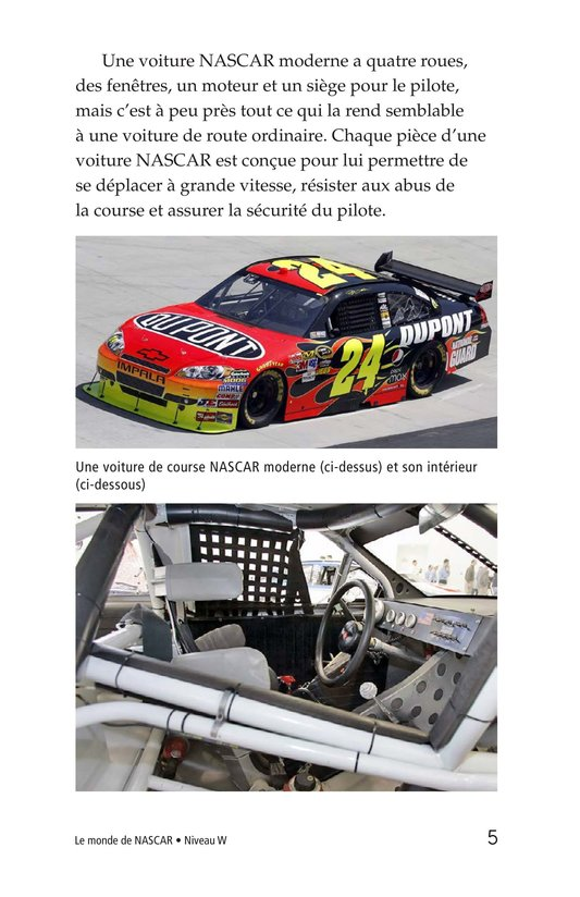 Book Preview For The World of NASCAR Page 5