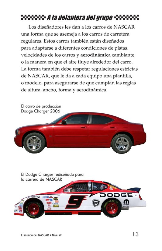 Book Preview For The World of NASCAR Page 13