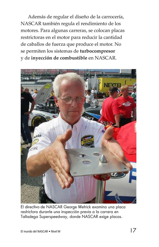 Book Preview For The World of NASCAR Page 17
