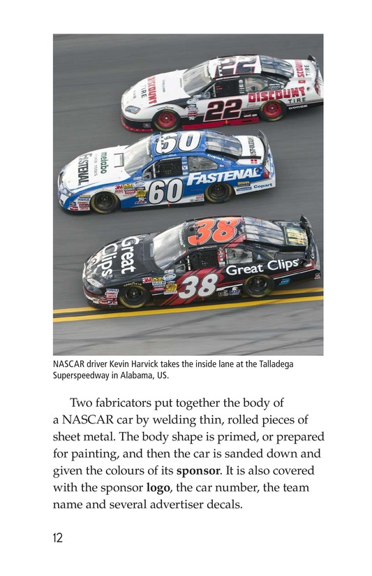 Book Preview For The World of NASCAR Page 12