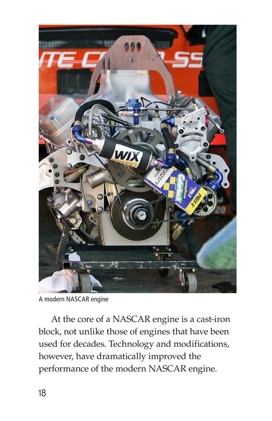 Book Preview For The World of NASCAR Page 18