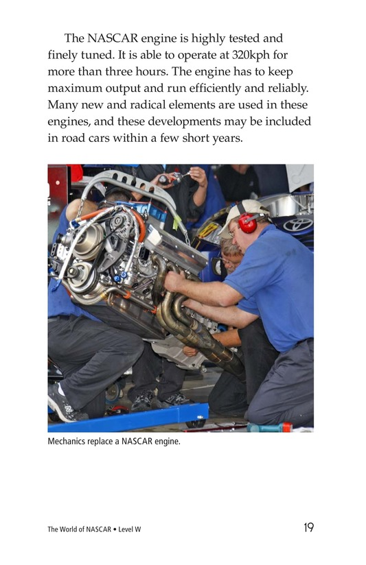 Book Preview For The World of NASCAR Page 19