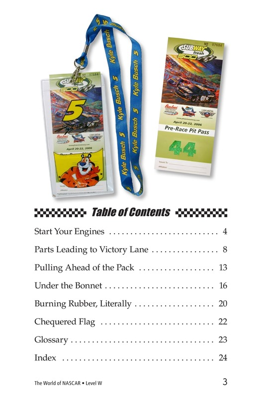 Book Preview For The World of NASCAR Page 3
