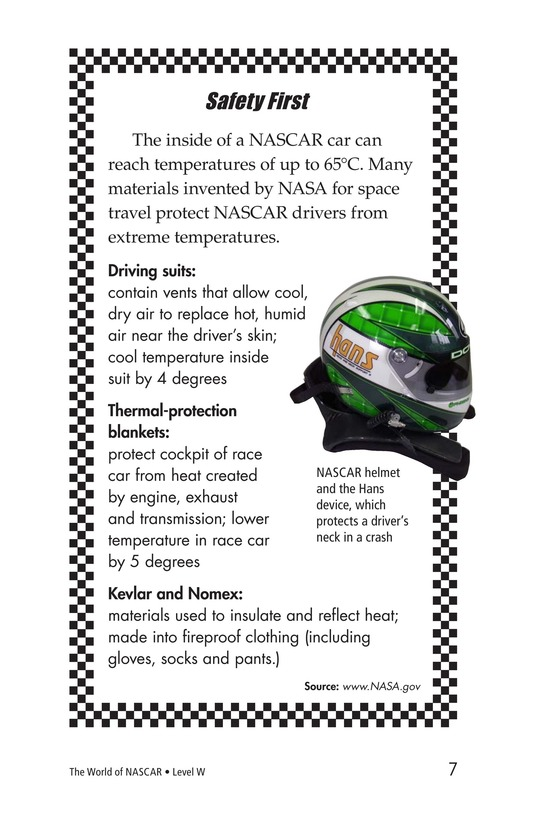 Book Preview For The World of NASCAR Page 7