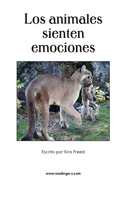 Book Preview For Animals Feel Emotions Page 2