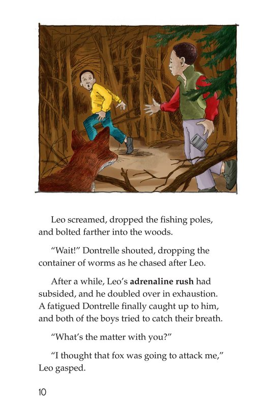 Book Preview For Leo the Lion Page 10