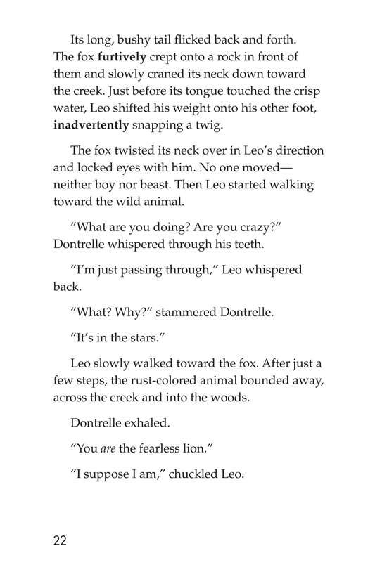 Book Preview For Leo the Lion Page 22