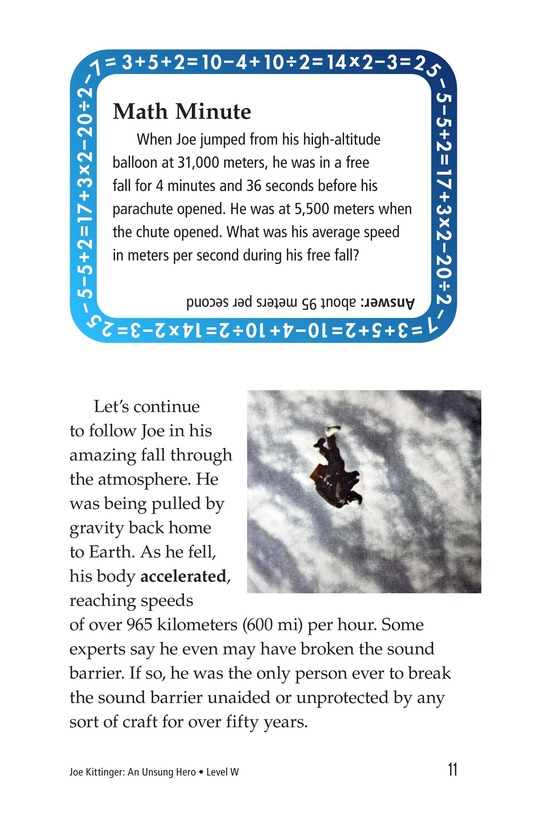Book Preview For Joe Kittinger: An Unsung Hero Page 11