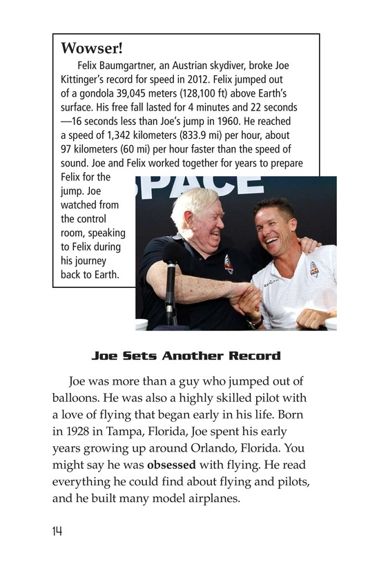 Book Preview For Joe Kittinger: An Unsung Hero Page 14