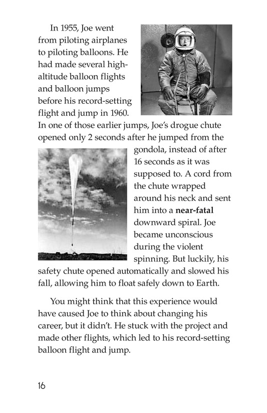 Book Preview For Joe Kittinger: An Unsung Hero Page 16