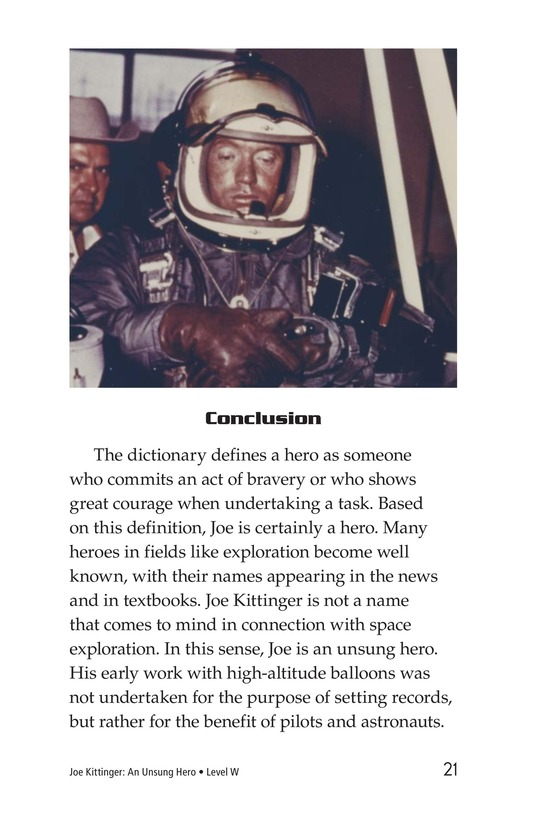 Book Preview For Joe Kittinger: An Unsung Hero Page 21