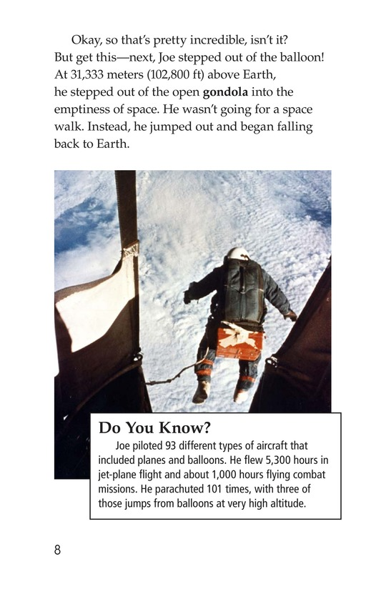 Book Preview For Joe Kittinger: An Unsung Hero Page 8