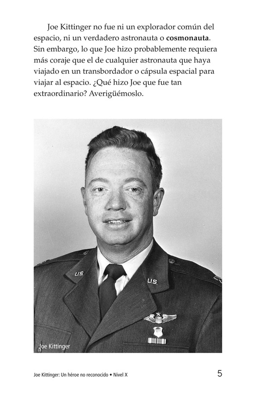 Book Preview For Joe Kittinger: An Unsung Hero Page 5