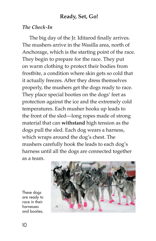Book Preview For The Jr. Iditarod Page 10