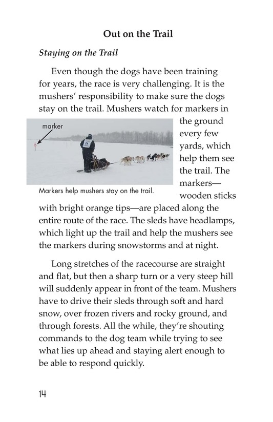 Book Preview For The Jr. Iditarod Page 14