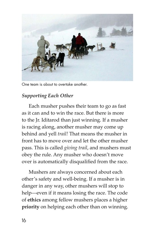 Book Preview For The Jr. Iditarod Page 16