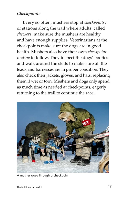 Book Preview For The Jr. Iditarod Page 17