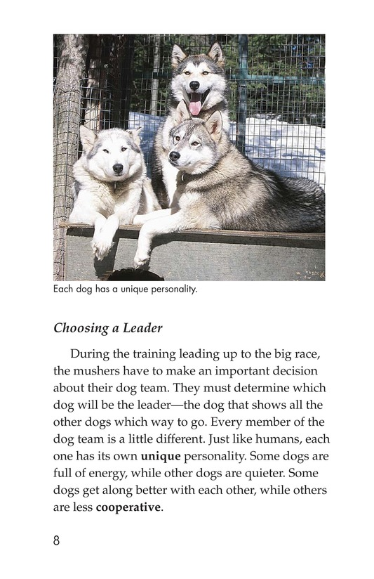 Book Preview For The Jr. Iditarod Page 8