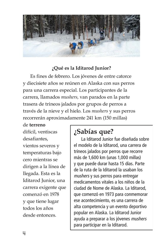Book Preview For The Jr. Iditarod Page 4