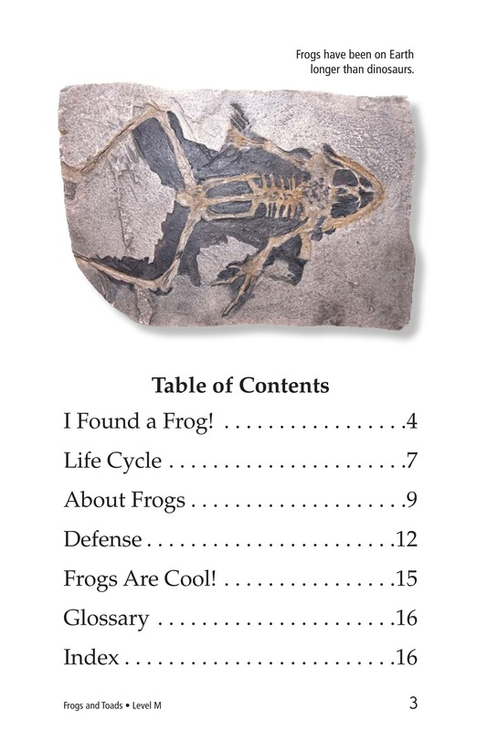 Book Preview For Frogs and Toads Page 3
