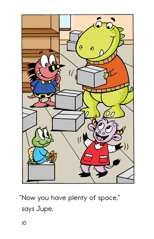 Book Preview For Monster Moving Day Page 10
