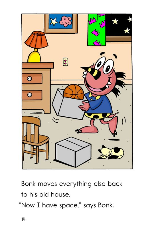 Book Preview For Monster Moving Day Page 14