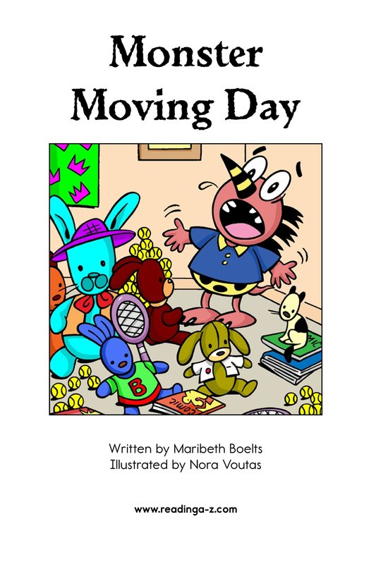 Book Preview For Monster Moving Day Page 2