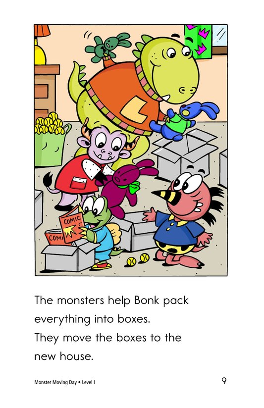 Book Preview For Monster Moving Day Page 9