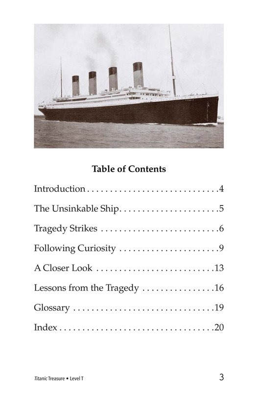 Book Preview For Titanic Treasure Page 3