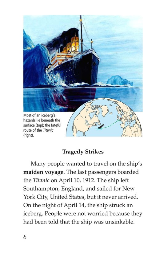 Book Preview For Titanic Treasure Page 6