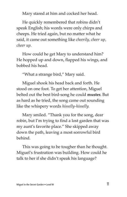 Book Preview For Miguel in the Secret Garden Page 11