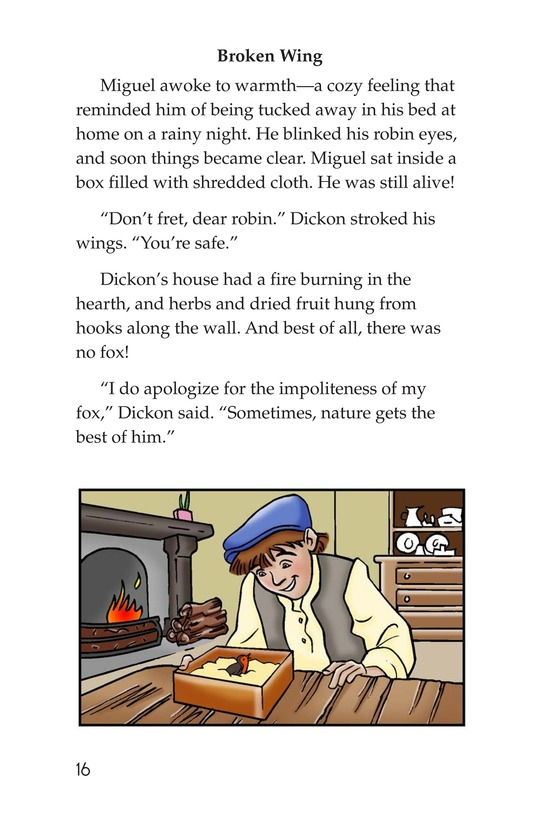 Book Preview For Miguel in the Secret Garden Page 16