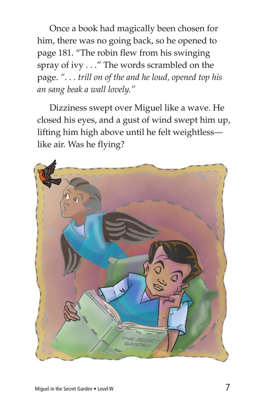 Book Preview For Miguel in the Secret Garden Page 7