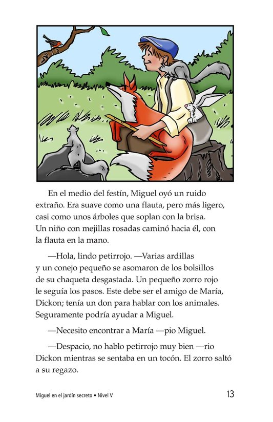Book Preview For Miguel in the Secret Garden Page 13