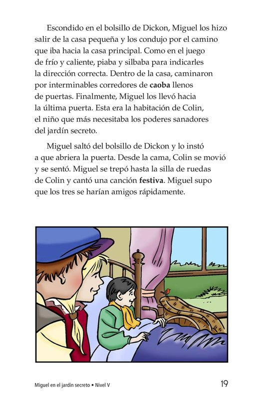 Book Preview For Miguel in the Secret Garden Page 19
