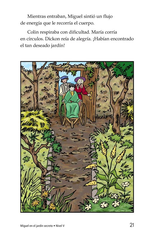 Book Preview For Miguel in the Secret Garden Page 21