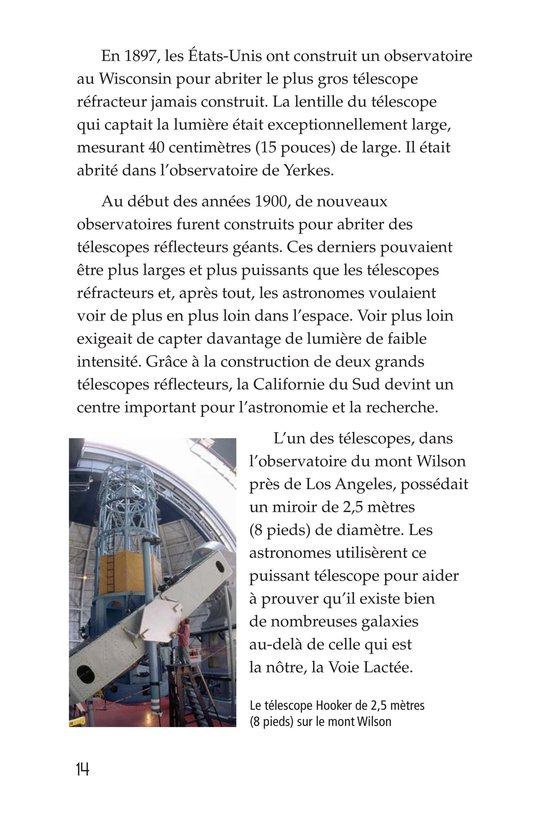 Book Preview For Telescopes: Eyes on Space Page 14