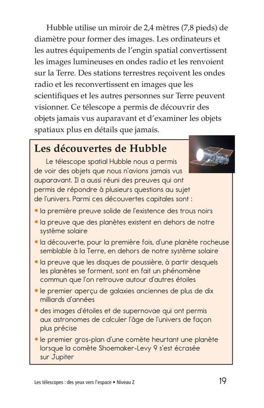 Book Preview For Telescopes: Eyes on Space Page 19