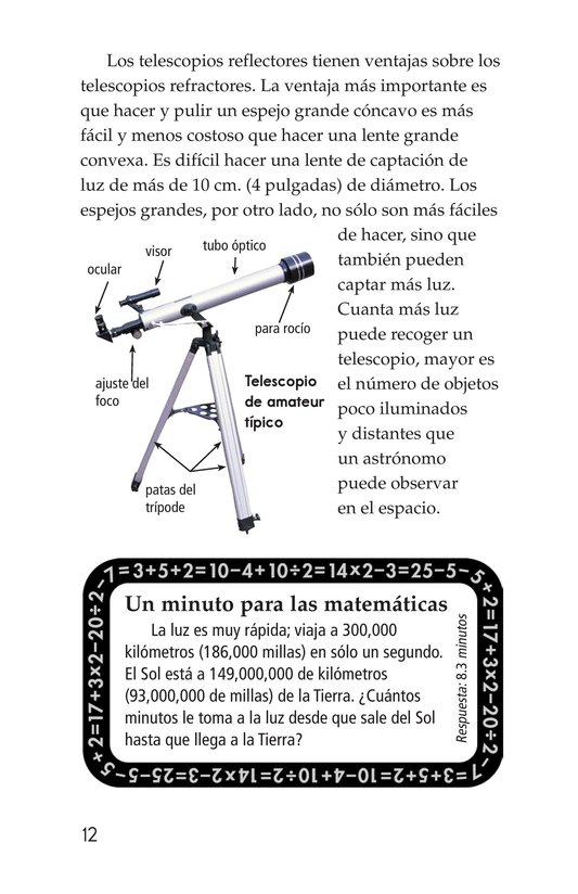Book Preview For Telescopes: Eyes on Space Page 12