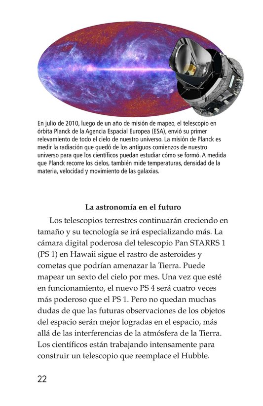 Book Preview For Telescopes: Eyes on Space Page 22