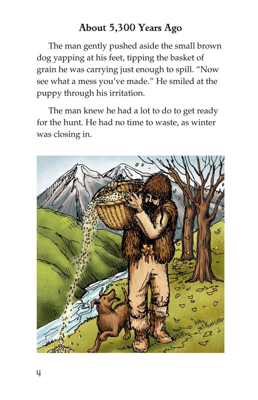 Book Preview For Otzi: The Iceman Page 4