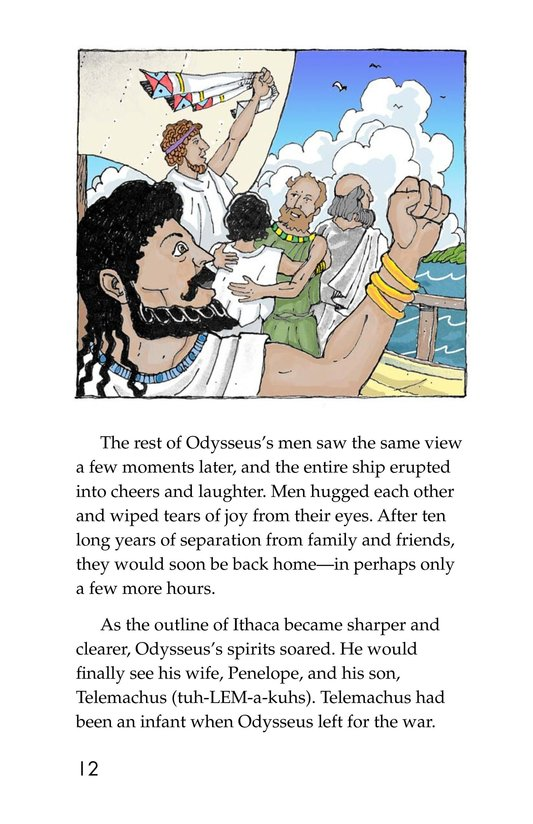 Book Preview For Odysseus and the Bag of Winds Page 12