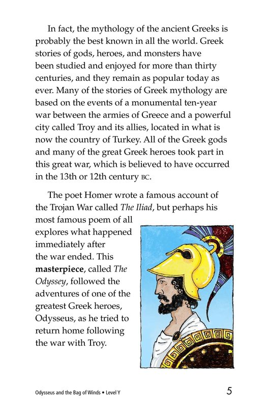 Book Preview For Odysseus and the Bag of Winds Page 5